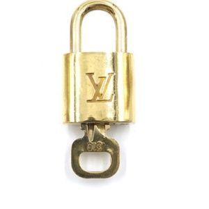 Gold Lock Keepall Speedy Alma #310 Bag